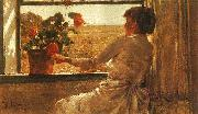 Childe Hassam Summer Evening oil painting picture wholesale
