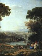 Claude Lorrain The Rest on the Flight into Egypt oil painting picture wholesale