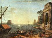 Claude Lorrain A Seaport oil painting picture wholesale