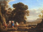 Claude Lorrain The Judgment of Paris oil painting picture wholesale
