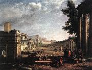 Claude Lorrain The Campo Vaccino, Rome dfg oil painting artist