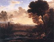 Claude Lorrain Landscape with Paris and Oenone fdg oil painting picture wholesale