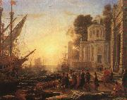 Claude Lorrain The Disembarkation of Cleopatra at Tarsus oil painting picture wholesale