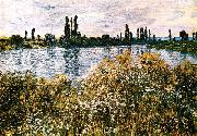 Claude Monet By the Seine near Vetheuil oil painting picture wholesale