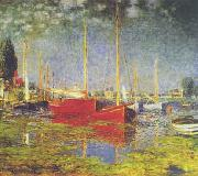 Claude Monet Sailboats at Argenteuil oil painting picture wholesale