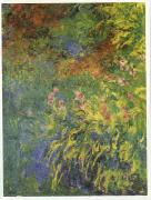 Claude Monet Irises, 1914-17 oil painting picture wholesale