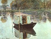 Claude Monet The Studio Boat oil painting picture wholesale