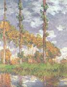 Claude Monet Poplars at Giverny oil painting picture wholesale