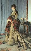 Claude Monet Madame Gaudibert oil