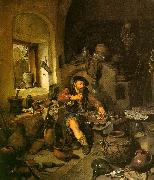 Cornelis Bega The Alchemist Sweden oil painting reproduction