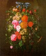 Cornelis de Heem Still Life with Flowers oil