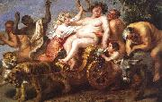 Cornelis de Vos The Triumph of Bacchus oil