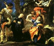 Correggio Martyrdom of Four Saints oil