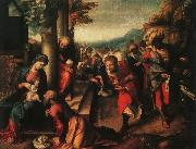Correggio The Adoration of the Magi fg oil