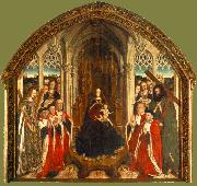 DALMAU, Lluis Altarpiece of the Councillors dfgh oil