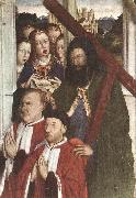 DALMAU, Lluis Altarpiece of the Councillors (detail) fg oil