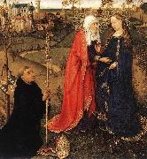 DARET, Jacques Visitation fdhda oil