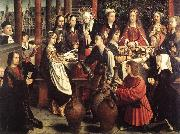 DAVID, Gerard The Marriage at Cana fg oil painting picture wholesale