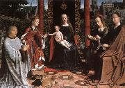 DAVID, Gerard The Mystic Marriage of St Catherine dg oil painting picture wholesale