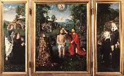 DAVID, Gerard Triptych of Jan Des Trompes  sdf oil painting picture wholesale