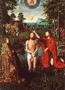 DAVID, Gerard Triptych of Jean Des Trompes (central) sdf oil painting picture wholesale
