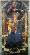DOMENICO VENEZIANO Madonna and Child sd oil