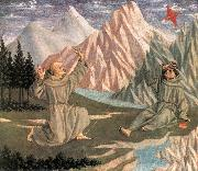 DOMENICO VENEZIANO The Stigmatization of St Francis (predella 1) df oil painting picture wholesale