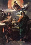 DOSSI, Dosso The Virgin Appearing to Sts John the Baptist and John the Evangelist dfg oil painting picture wholesale