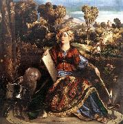 DOSSI, Dosso Circe (or Melissa) dfgd oil painting artist