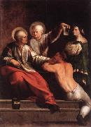 DOSSI, Dosso St Cosmas and St Damian dfg oil painting artist