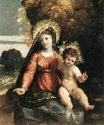 DOSSI, Dosso Madonna and Child ddfhf Sweden oil painting reproduction
