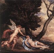 DYCK, Sir Anthony Van Cupid and Psyche df oil painting picture wholesale