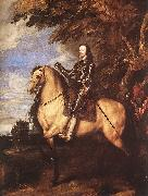 DYCK, Sir Anthony Van Charles I on Horseback fg oil