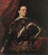 DYCK, Sir Anthony Van Portrait of a Young General dfgj oil