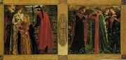Dante Gabriel Rossetti The Salutation of Beatrice oil painting picture wholesale