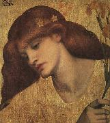 Dante Gabriel Rossetti Sancta Lilias oil painting picture wholesale
