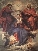 Diego Velazquez The Coronation of the Virgin oil painting artist