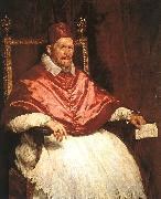 Diego Velazquez Pope Innocent X oil painting artist