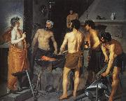 Diego Velazquez The Forge of Vulcan oil painting artist