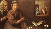 Diego Velazquez Christ in the House of Martha and Mary oil painting picture wholesale