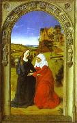 Dieric Bouts The Visitation. oil painting picture wholesale
