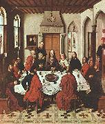 Dieric Bouts The Last Supper oil