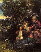 Dosso Dossi The Rest on the Flight into Egypt_4 oil