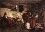 ELSHEIMER, Adam Jupiter and Mercury at Philemon and Baucis fgj oil painting picture wholesale