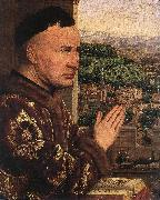 EYCK, Jan van The Virgin of Chancellor Rolin (detail) dsgs oil painting picture wholesale