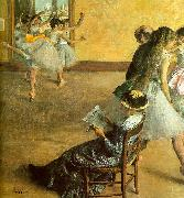 Edgar Degas Ballet Class Sweden oil painting reproduction