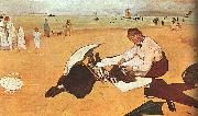 Edgar Degas At the Beach_z Sweden oil painting reproduction
