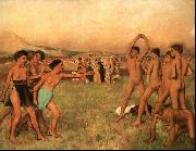 Edgar Degas The Young Spartans Exercising Sweden oil painting reproduction