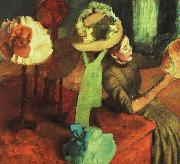 Edgar Degas The Millinery Shop Sweden oil painting reproduction