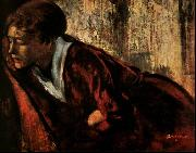 Edgar Degas Melancholy oil painting picture wholesale
